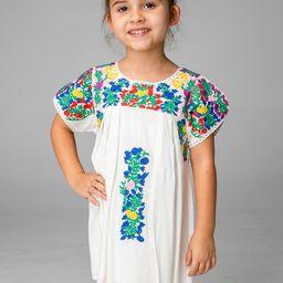 Lola Girl's Embroidered Dress - Multi | BuddyLove