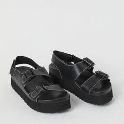 Platform sandals | H&M (UK, IE, MY, IN, SG, PH, TW, HK)