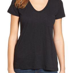 Rounded V-Neck T-Shirt | Nordstrom