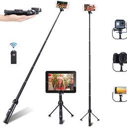 Selfie Stick, Professional 45-Inch Selfie Stick Tripod, Extendable Selfie Stick with Wireless Rem... | Amazon (US)