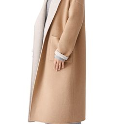 Open Shawl Collar Coat   Nordstrom