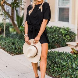 Ready For Anything Black Romper | The Pink Lily Boutique