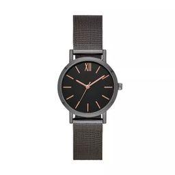 Women's Roman Mesh Strap Watch - A New Day™ Gray | Target