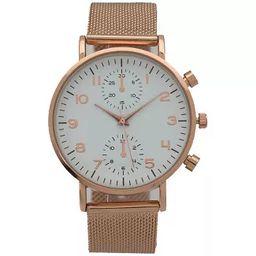 Olivia Pratt Mesh Two-Dial Buckle Strap Watch | Target