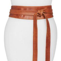 Handmade Leather Wrap Belt | Nordstrom