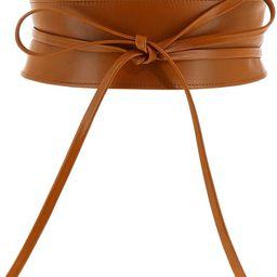 Woman Italian leather Obi belt, CASSIANE | Amazon (US)