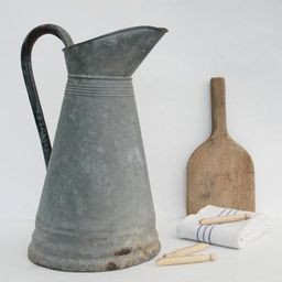 Galvanized pitcher, Outdoor kitchen, entryway, porch and garden decor | Etsy (US)