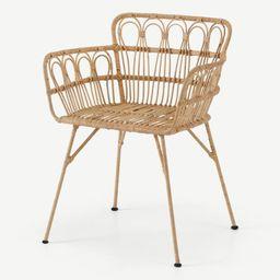 Jurupa Dining Chair, Natural Cane | MADE.COM (UK)