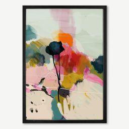 Ana Rut Bre, 'Landscape Floral' Framed Print (More Sizes Available) | MADE.COM (UK)