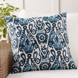 Sunbrella® Delphi Ikat Indoor/Outdoor Pillow | Pottery Barn (US)