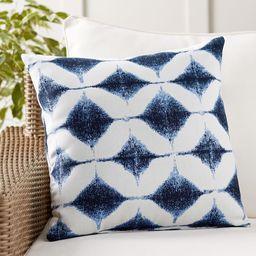Sunbrella® Shelton Jacquard Indoor/Outdoor Pillow | Pottery Barn (US)