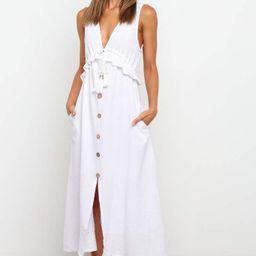 Verlo Dress - White   Petal & Pup (US)