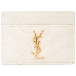 Monogram quilted cardholder   Farfetch (US)