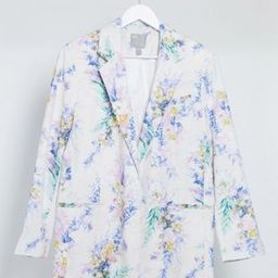 ASOS DESIGN dad suit in floral print | ASOS (Global)