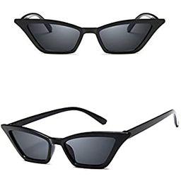 FEISEDY Small Cat Eye Sunglasses Vintage Square Shade Women Eyewear B2291   Amazon (US)