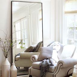 "Berke Oversized Iron Frame Floor Mirror, 36"" x 78""   Pottery Barn (US)"