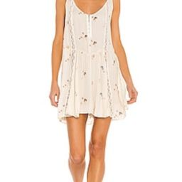 Free People Give A Little Mini Slip Dress in Ivory Combo from Revolve.com   Revolve Clothing (Global)