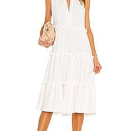 Amanda Uprichard Wilma Dress in Ivory from Revolve.com   Revolve Clothing (Global)