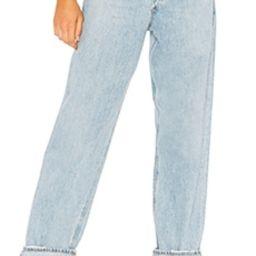 AGOLDE Criss Cross Upsized Jean in Suburbia from Revolve.com | Revolve Clothing (Global)