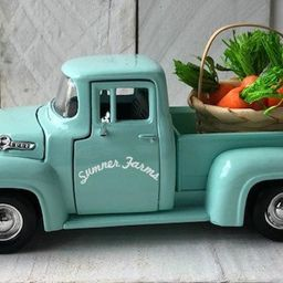 Metal Farm Truck,Personalized Truck, Farmhouse Truck Decor, Easter Truck, Truck Decor,Farmhouse D... | Etsy (US)