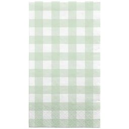 30ct Disposable Lunch Napkins Gingham Green - Spritz™ | Target