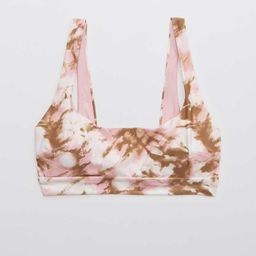 Aerie Banded Wide Strap Scoop Bikini Top | American Eagle Outfitters (US & CA)