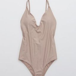 Aerie Ballet Scoop One Piece Swimsuit | American Eagle Outfitters (US & CA)