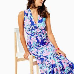 Pearce Ruffle Maxi Dress | Lilly Pulitzer