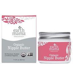 Organic Nipple Butter Breastfeeding Cream by Earth Mama   Lanolin-free, Safe for Nursing & Dry Sk...   Amazon (US)