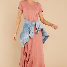Need It All Rose Pink Maxi Dress | Red Dress