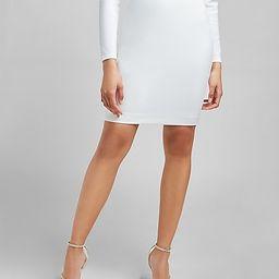 High Waisted Supersoft Twill Pencil Skirt | Express