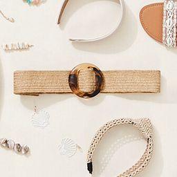 Marbled Round Buckle Waist Belt | Forever 21 (US)