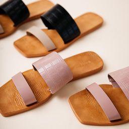 Adamari Double Strap Sandals   Bohme