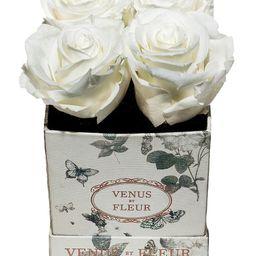Venus ET Fleur Butterfly-Print Eternity De Venus Le Petite Square Eternity - Pure White   Saks Fifth Avenue