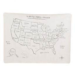GATHRE Mini+ Mat – USA Map | The Tot