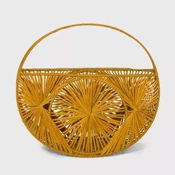 Woven Tote Handbag - A New Day™ Tan   Target