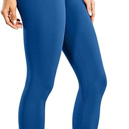 Women's Naked Feeling High Waist Yoga Tight Pants 7/8 Workout Leggings - 25 Inches | Amazon (US)
