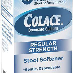 Colace Regular Strength Stool Softener 100 mg Capsules 60 Count Docusate Sodium Stool Softener fo...   Amazon (US)