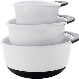 OXO Good Grips 3- Piece Mixing Bowl Set | Amazon (US)