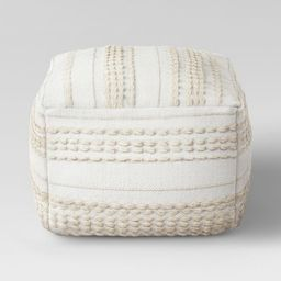 Lory Pouf Textured - Opalhouse™ | Target