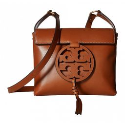 Tory Burch Women's Crossbodies Aged - Aged Camello Miller Leather Crossbody Bag | Zulily
