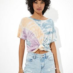 AE Soft & Sexy Tie-Dye Crew Neck T-Shirt   American Eagle Outfitters (US & CA)