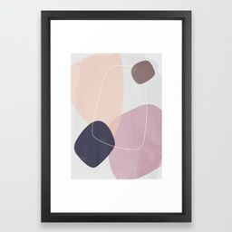 Graphic 185 Framed Art Print | Society6