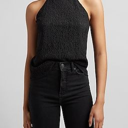 Lace Halter Neck Top | Express