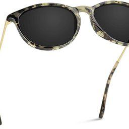 Round Retro Polarized Lens Classic Sunglasses for Women   Amazon (US)
