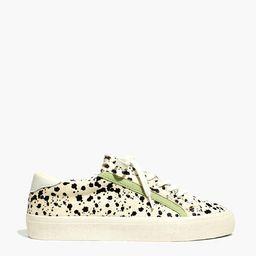 Sidewalk Low-Top Sneakers in Spatter-Painted Calf Hair   Madewell