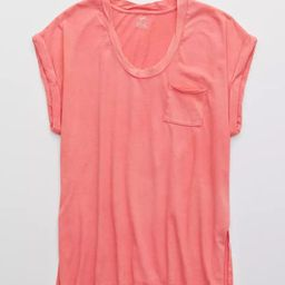 Aerie Boyfriend Rope Voop T-Shirt | American Eagle Outfitters (US & CA)