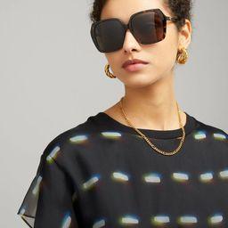 Oversized Square Sunglasses   Liberty London (UK & US)