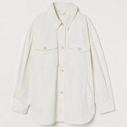 Twill Shirt Jacket | H&M (US)
