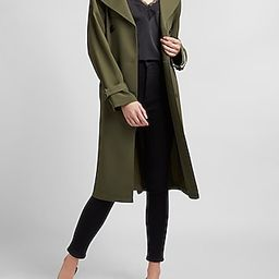 Belted Double Breasted Trench Coat   Express